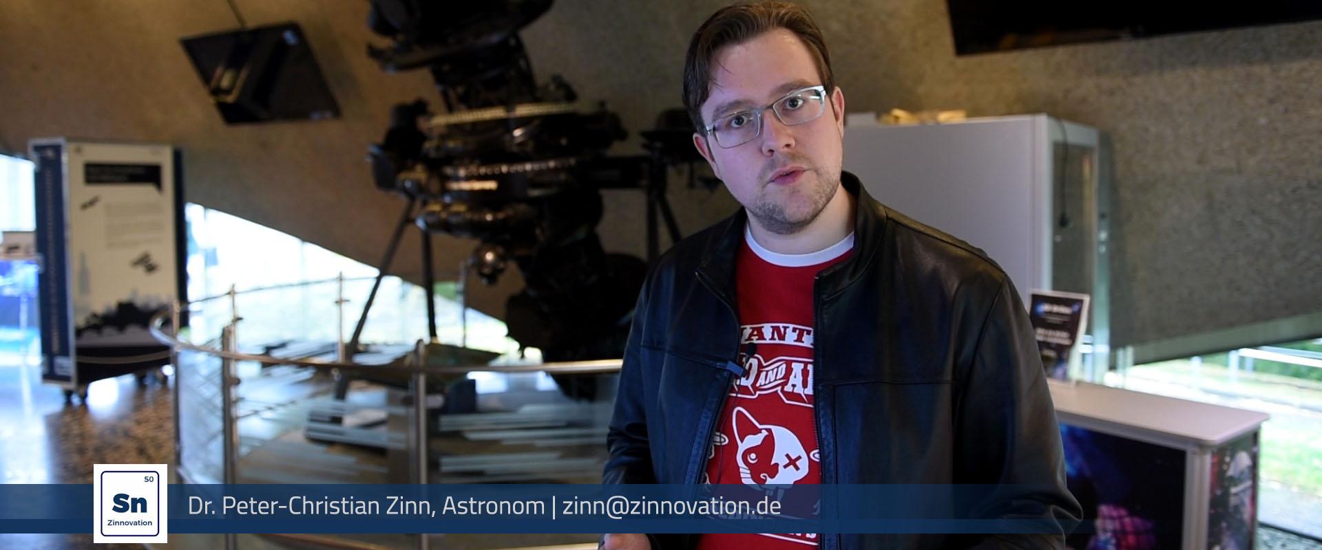 Peter Zinn Referent Naturwissenschaften Astronom