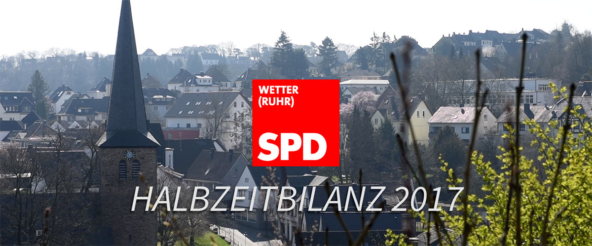 SPD Wetter Halbzeitbilanz 2017
