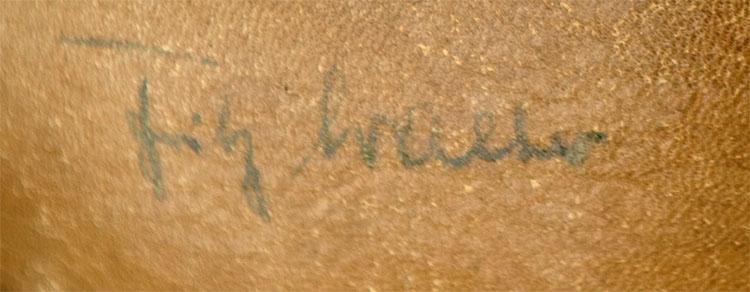 Unterschrift Fritz Walter