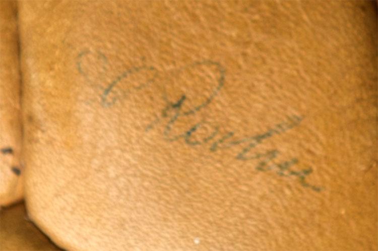 Unterschrift Helmut Rahn
